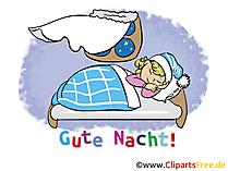 Elektronische Grußkarte Gute Nacht gratis
