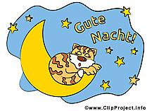 Gute Nacht Clipart