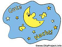 Gute Nacht Himmel Bild