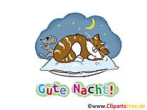 Gute Nacht Karten kostenlos