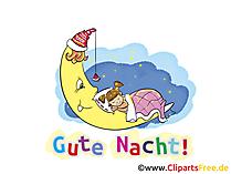 Gute Nacht Wünsche zum Versenden