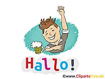 Grussbilder kostenlos - Hallo Bilder