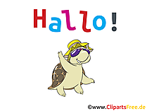 Hallo Clipart, Bild, Grafik, Karte, Cartoon