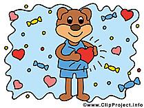Verliebtheit Bild - Clipart