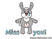 Tavşan resmi ağlıyor