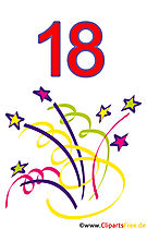 18. Birthday Clipart Free