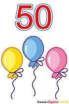 50 Geburtstag Bilder gratis