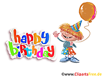 Birthday Party Themes, Cliparts, Images, Cards