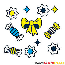 Bonbons Clipart Bild kostenlos