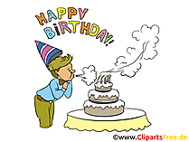 Children Birthday Clip Art