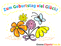 Clipart 50. Geburtstag