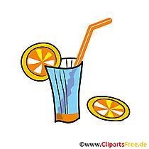 Cocktail Clipart zum Geburtstag gratis