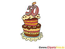 Einladung zum 50 selbst gestalten Clipart