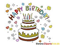 Geburtstag Bilder Torte