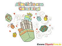 Geburtstag Clipart Geschenke