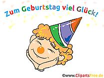 Geburtstag Cliparts