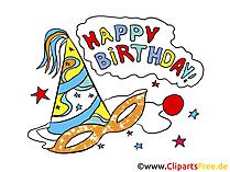 Geburtstagseinladung zum Ausdrucken