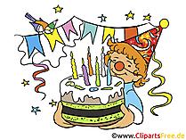 Geburtstagsparty Einladung