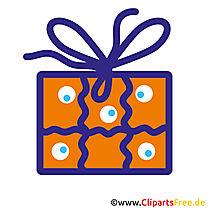 Geschenk zum Geburtstag Clipart free