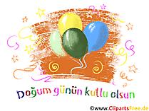 Tillykke med fødselsdagen på tyrkisk