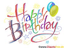 Happy Birthday Card Bilder
