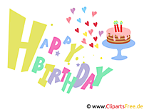 Happy Birthday Letters to print