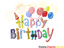 Happy Birthday Title, Text, Card, Image, Clip Art