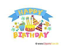 Happy clipart, graphic, e-card, foto gratis