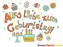 Kostenlose Geburtstags Bilder, Gifs, Grafiken, Cliparts
