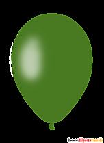 Dark green balloon clipart, illustration, graphic