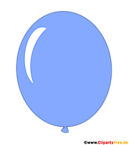 Air balloon blue comic illustration transparent