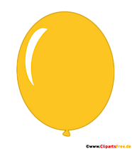 Balloon Yellow PNG Clipart Transparent