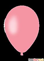 Różowy balon powietrzny Clipart, ilustracja, obraz
