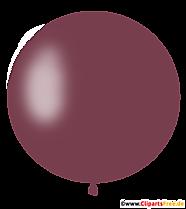 Okrągły brązowy balon PNG Clipart, ilustracja, obraz