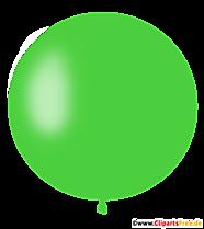 Ballon rond en vert clair PNG, Illustration, Image