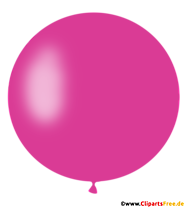 Ballon Violet Rond PNG Clipart, Illustration, Image