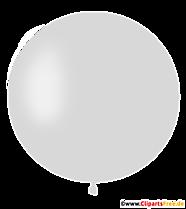 Ballon rond en clipart blanc, illustration, photo