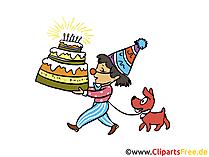 Vorlagen für Geburtstagseinladungen
