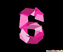 Șablon numărul 6 (șase) ilustrații cu pachete de numere