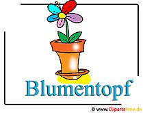 Blumentopf Bild Clipart free