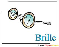 Brille Clipart-Bild free
