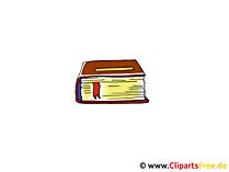 本のクリップアート