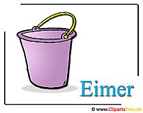 Eimer Bild Clipart free
