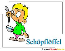 Grafik Clipart Löffel