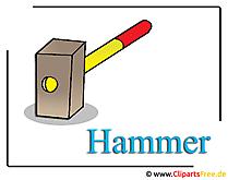 ハンマー画像クリップアート無料