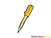 Kugelschreiber Bild, Clipart, Illustration, Grafik, Zeichnung kostenlos