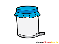 Mülleimer Bild, Clipart, Illustration, Grafik gratis