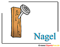 Nagel Bild-Clipart
