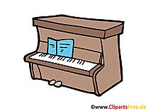 Piano Clip Art, Image, Picture