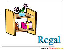 Regal Cliparts free Moebel